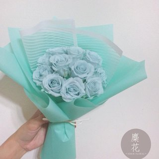 Amor Floral - Tiffany 11 large bouquets of eternal roses / marriage birthday without flowers
