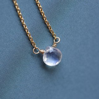 Have you no regrets necklace │ moonstone full 14kg