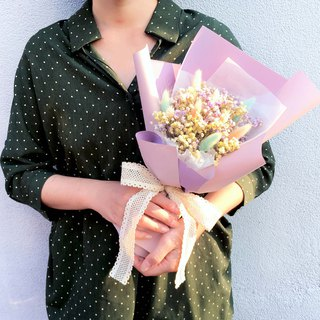 | Xu Xingxing wishes | Dry flowers. Graduation bouquet. Standing bouquet. Gypsophila. Rabbit tail grass
