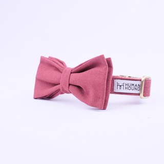 Crimson Collar-Bowtie with Jacket