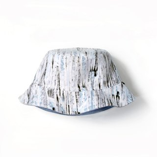 Snow wood double-sided fisherman hat