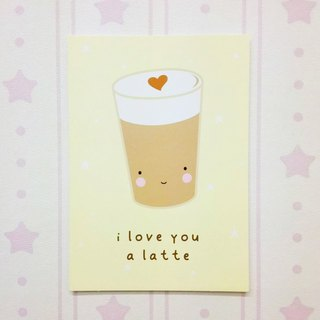 Netherlands a Little Lovely Company - healing cute postcards - favorite latte