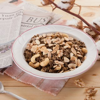 [afternoon snack light] rabbit food cereal set - nut black tea