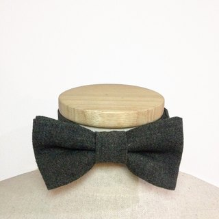 Bow Tie GREEN WOOL