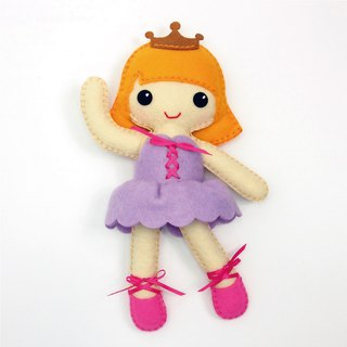 Fairy Land [Material Bag] Barre Dance Doll - Purple