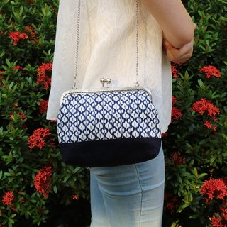 Blue Wave Ripples Cross Body Bag| Girlskioku~*
