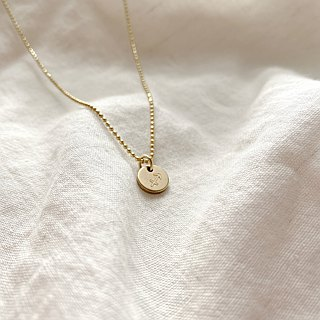 Horoscope sign-brass necklace-Sagittarius