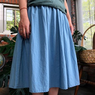 Soft water cotton pocket skirt