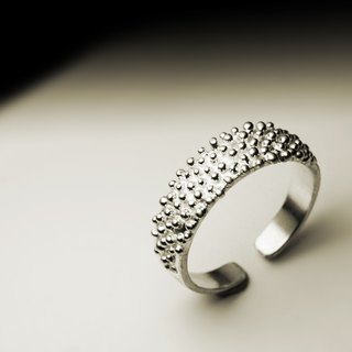 Small silver silver ring