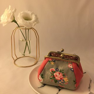 Spring Feel Kyoto Rose Gold Coin Purse