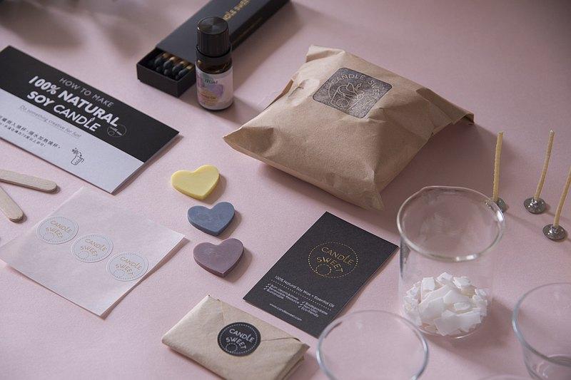 【材料包】大豆精油蠟燭輕鬆做-3杯入-全新包裝!!