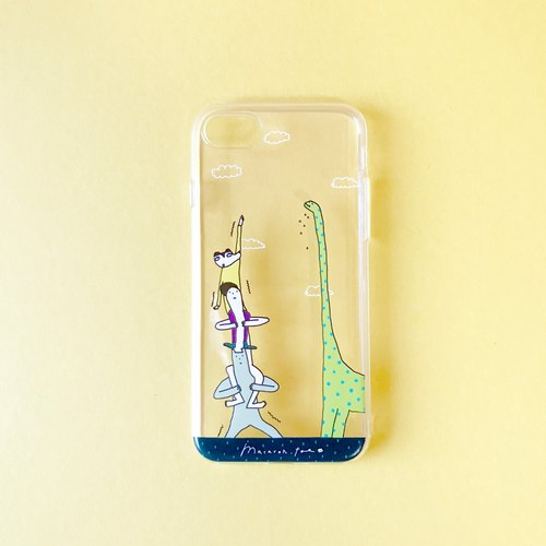 Tumbling Tower | iPhone case (soft)
