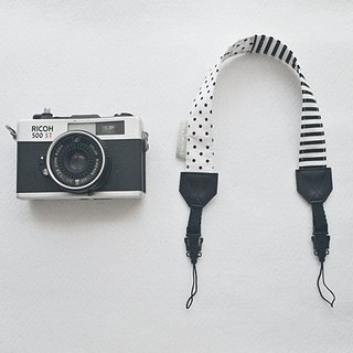 hairmo. Black and white mosaic double wrist bridge camera with a quick-release group (two-hole 30)