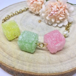 Sweet luminous candy bracelet