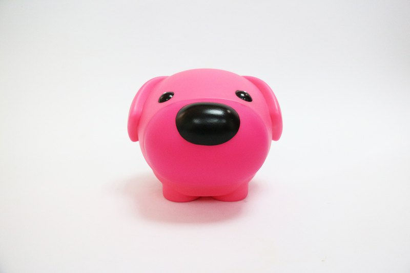 My Dog -2018 Year of the Dog Puffs - Bright pink