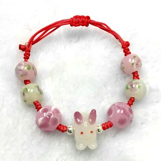 Red Rabbit Love Bracelet | Love Bracelet | Rabbit Bracelet | Cute Rabbit