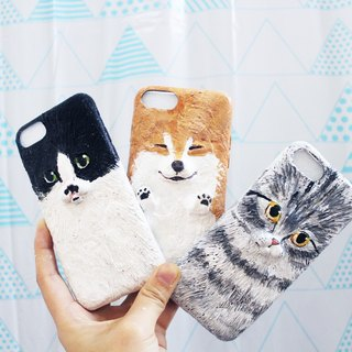 【Moses's warehouse】 customization - cat phone shell