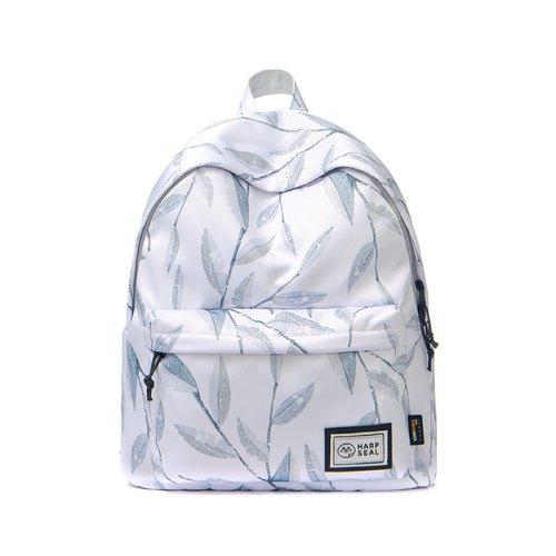 白雪藍葉防盜後背包- 設計館HARPSEAL 後背包專賣店- 電腦包,筆電包- Pinkoi