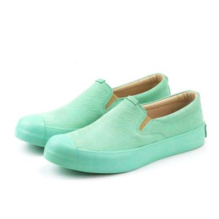 PURE M1162 Mint leather sneakers
