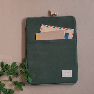 OVERTIME laptop sleeve - Green