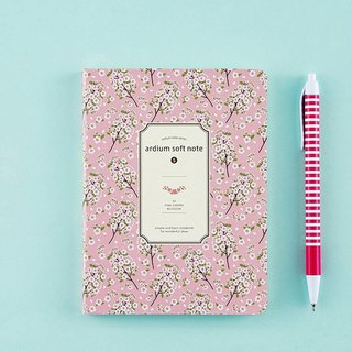 ARDIUM silky notebook (small) - pink cherry blossoms