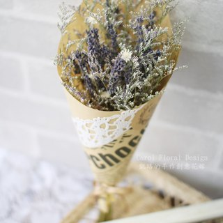 [Romantic bouquet of lavender] - eternal flower / dried flower / bouquet jewelry / wedding bouquets Bouquet / Flower Ceremony