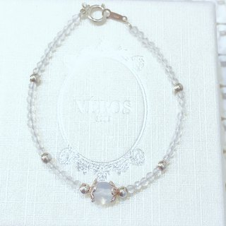 Dream Heaven white crystal bracelet