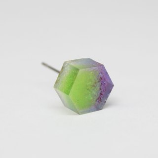 Resin Earrings / 448 / Street Spirit - Single Stud