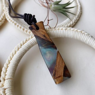 Infatuation. Xiao Nan wood necklace