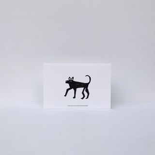 Dogs | Forest Can Card (with Envelope)