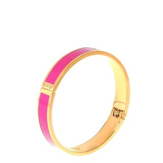 Pure color peach blossom enamel series of solid color bracelet (gold) -11000159003