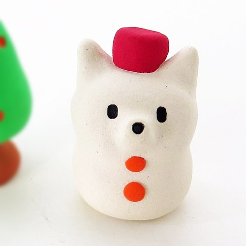 Small bowls Snowman Christmas objects