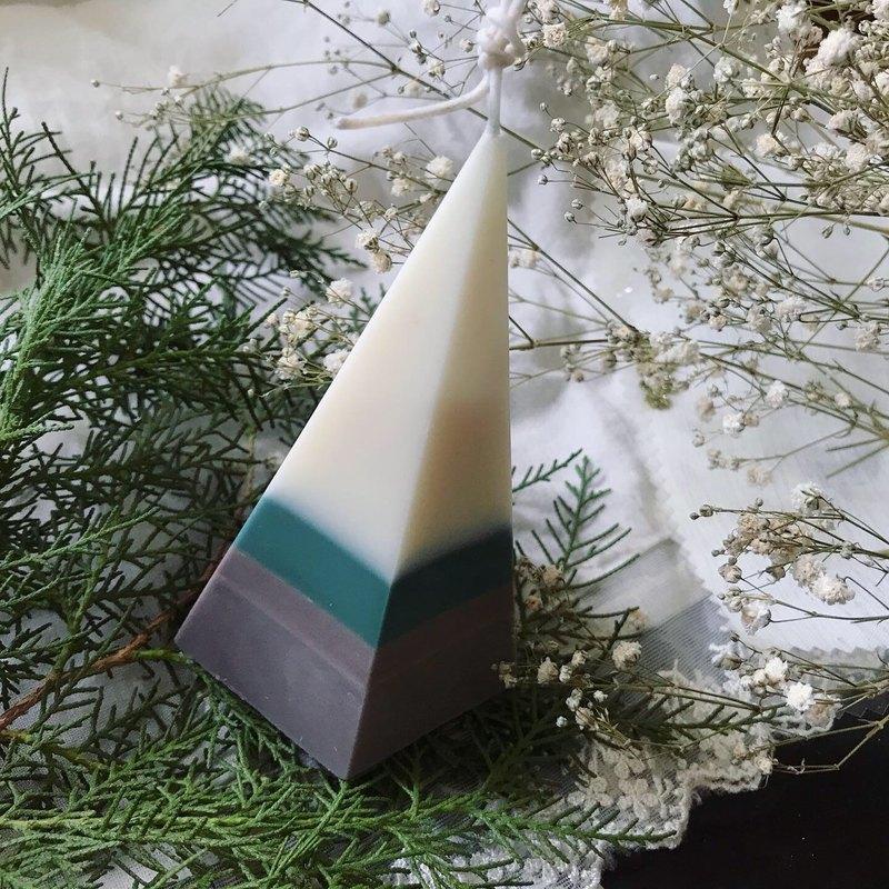 秋天的樹精油大豆蠟燭/療癒系蠟燭/生日禮物/交換禮物
