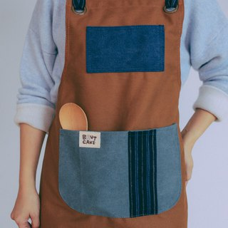 Brut Cake Washed Canvas Full-body Pocket Apron - Kitchen, Work Use at Home, Workplace Uses Durable, Good Washable Storage (2)