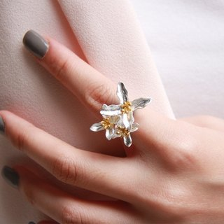 Be Always Blooming Cocktail Ring