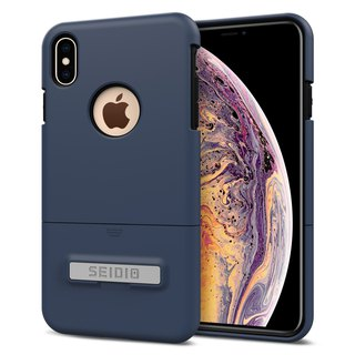 都會時尚手機殼/保護殼for Apple iPhone Xs Max-暗夜藍-SURFACE