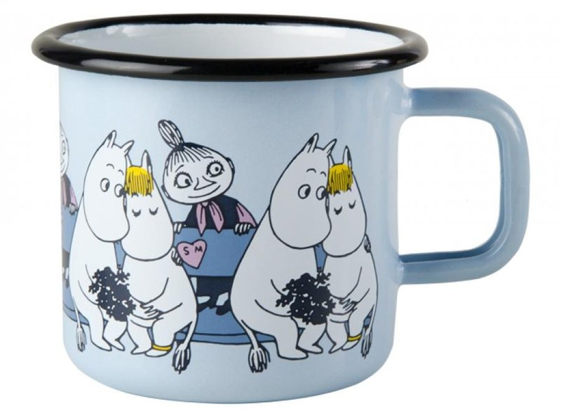 Moomin Finnish glutinous rice mug 3.7 dl Christmas gift exchange gift