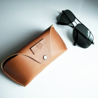 Handmade Vintage Leather Classic Sunglasses Case / Sunglasses Pouch