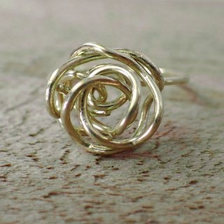 Lightup workshop - Rose ring, 1MM-brass wire
