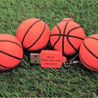 Basketball modeling pen drive 8GB + single-sided printing