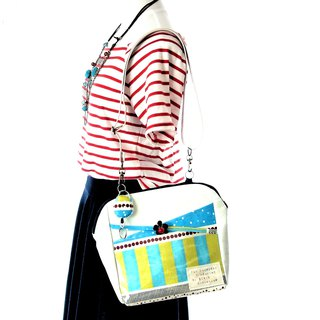 Super lightweight! Automatic ticket inspection through tailoring  Clear bag S