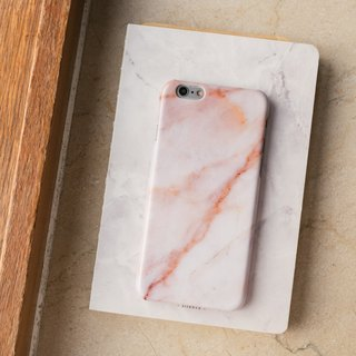 Hong Kong original brand Sell Good imitation marble texture glossy hard shell iPhone shell phone - dark red