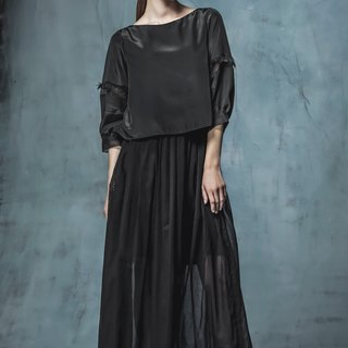 YUWEN black dress