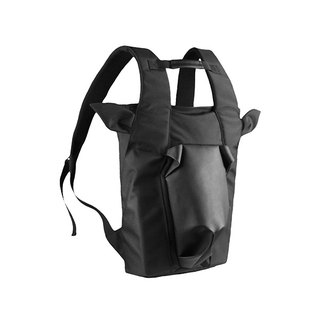 ORIBAGU Bags _ Black Bighorn Goat Backpack