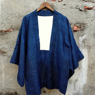 Small turtle Ge Ge - geometric old flower feathers antique kimono jacket