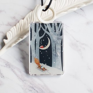 Christmas Squirrel - Cardholder