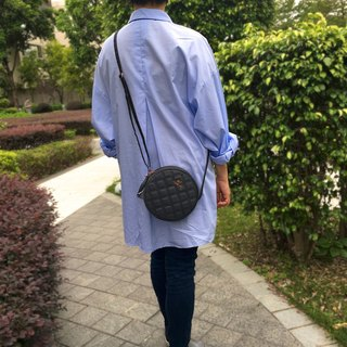 Aristocat Waterproof Heavy Denim Mini Round Bag