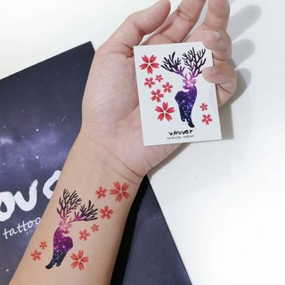 TU Tattoo Sticker - color elk / Tattoo / waterproof Tattoo / original / Tattoo Sticker