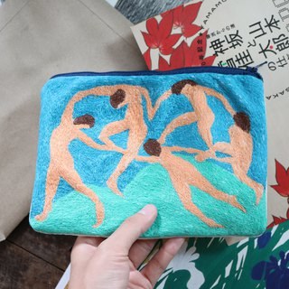 "Hand Bag "" Dance "" by Henri Matisse"