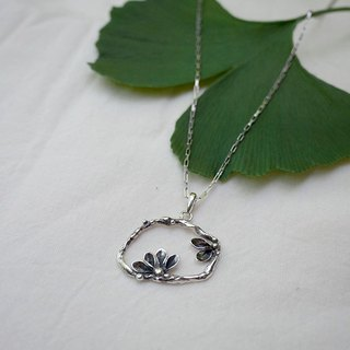 """Fern"" bis / Department of Forestry / handmade sterling silver pendant"